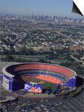Shea Stadium, Aerial View, Ny Mets Posters by Bruce Clarke