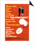 The Apartment, 1960 Print