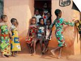 Agboli-Agbo Dedjlani, Abomey, Benin (Dahomey), Africa Prints by Bruno Barbier