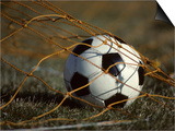 Soccer Ball in Net Art