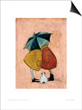 A Sneaky One Posters by Sam Toft
