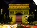 Arc De Triomphe, Paris, France Prints by Lee Frost
