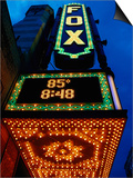 Fox Theater Entrance and Marquee, Atlanta, GA Poster by Jeff Greenberg