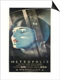 Metropolis, German Movie Poster, 1926 Posters