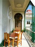 View Along Balcony at the Palacio De Valle, Cienfuegos, Cuba, West Indies, Central America Prints by Lee Frost