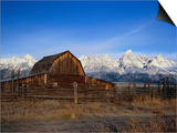 Barn, Grand Teton National Park, WY Stampe di Elizabeth DeLaney
