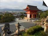 Kiyomizu Dera Temple, Unesco World Heritage Site, Kyoto City, Honshu, Japan Poster by Christian Kober