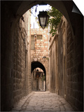 Arched Streets of Old Town Al-Jdeida, Aleppo (Haleb), Syria, Middle East Posters by Christian Kober