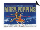 Mary Poppins, UK Movie Poster, 1964 Posters