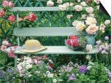Summer Outdoor Arrangement Affiches par Lynne Brotchie