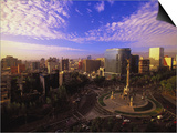Monumento a La Independencia, Mexico City Prints by Walter Bibikow