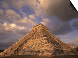 Ancient Mayan Ruins, Chichen Itza, Mexico Posters by Walter Bibikow