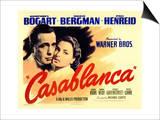 Casablanca, 1942 Print