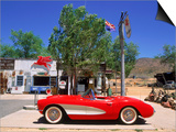 1957 Chevrolet Corvette, Hackberry, AZ Posters by David Ball