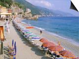 Fegina Beach, Cinque Terre, Liguria, Italy Prints by Bruno Morandi