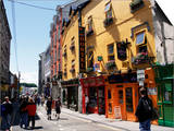 Colourful Facades, Galway, County Galway, Connacht, Eire (Republic of Ireland) Prints by Ken Gillham