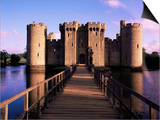 Bodiam Castle, East Sussex, England, United Kingdom Posters by Kathy Collins