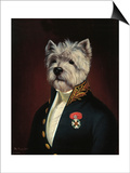 The Officer's Mess Plakater af Thierry Poncelet