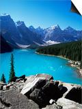 Moraine Lake, Valley of the Ten Peaks, Banff National Park, Rocky Mountains Prints by Hans Peter Merten