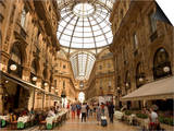 Galleria Vittorio Emanuele, Milan, Lombardy, Italy Prints by Christian Kober