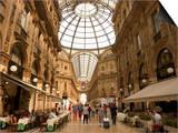 Galleria Vittorio Emanuele, Milan, Lombardy, Italy Prints by Christian Kober