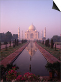 Taj Mahal, Agra, India Prints by Michele Burgess