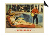 Girl Happy, 1965 Print