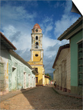 Tower of St. Francis of Assisi Convent and Church, Trinidad, Cuba, West Indies, Central America Posters by Harding Robert
