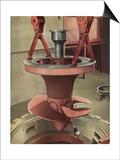 Giant Generator, 1935 Posters av Charles Sheeler