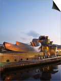 Guggenheim Modern Art Museum Designed by Frank Gehry, Bilbao, Basque Country, Euskadi, Spain Posters by Christian Kober