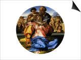 Doni Tondo, 1503 Prints by  Michelangelo Buonarroti