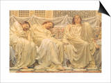 Dreamers, 1882 Prints by Albert Joseph Moore