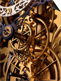 Internal Gears Within a Clock Posters by David Parker