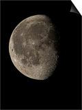 Waning Gibbous Moon Print by Eckhard Slawik