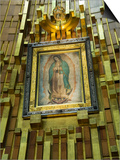 Basilica De Guadalupe, a Famous Pilgramage Center, Mexico City, Mexico, North America Poster autor R H Productions