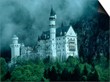 Castle, Neuschwanstein, Germany Posters by Arnie Rosner