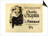 The Fireman, 1916 Poster