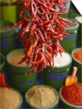 Chillies in Spice Market, Istanbul, Turkey, Europe Posters by Sakis Papadopoulos