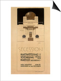 Secession, c.1897 Prints by Joseph Maria Olbrich
