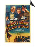 Sherlock Holmes and the Voice of Terror Posters