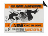 A New Kind of Love, UK Movie Poster, 1963 Art