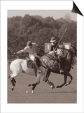 Ben Wood - Polo In The Park I - Art Print