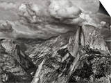 Half Dome under Storm, Yosemite Nat'l Park, UNESCO World Heritage Site, Yosemite, California, USA Posters by Antonio Busiello