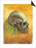 Skull in Profile, 1887 Prints by Vincent van Gogh