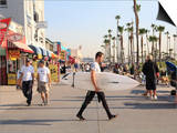Venice Beach, Los Angeles, California, United States of America, North America Posters by Wendy Connett