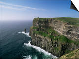 Cliffs of Moher, County Clare, Munster, Eire (Republic of Ireland) Poster by Hans Peter Merten