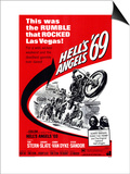 Hell's Angels '69, 1969 Poster