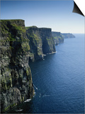 Ireland, County Clare, Cliffs of Moher Posters by Roy Rainford