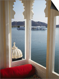 View of Lake Palace Hotel From Jagat Niiwas Palace Hotel, Udaipur, Rajasthan, India, Asia Art by Ian Trower