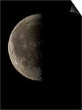 Waning Half Moon Prints by Eckhard Slawik